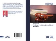 Capa do livro de Krytyczne badanie Locus Standi w Nigerii