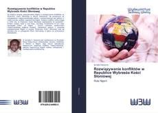 Portada del libro de Rozwiązywanie konfliktów w Republice Wybrzeża Kości Słoniowej