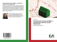 Buchcover von The Economic Crisis of 2008: a comparison with the Great Depression
