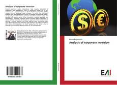 Обложка Analysis of corporate inversion