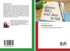 Borítókép a  Too Big to Fail - hoz