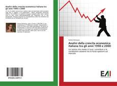 Bookcover of Analisi della crescita economica italiana tra gli anni 1990 e 2000