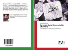 Bookcover of Corporate Social Responsibility e territorio