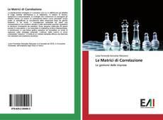 Buchcover von Le Matrici di Correlazione