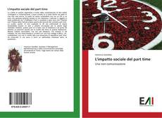 Bookcover of L'impatto sociale del part time