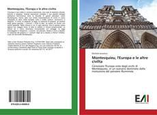 Montesquieu, l'Europa e le altre civilta kitap kapağı