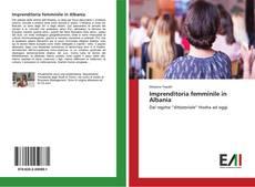 Copertina di Imprenditoria femminile in Albania