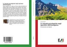 Le sequele psicologiche negli operatori dell'emergenza kitap kapağı