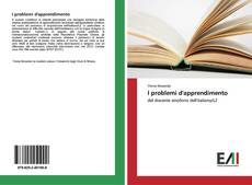 Bookcover of I problemi d'apprendimento