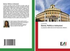 Portada del libro de Donne, Politica e Istituzioni
