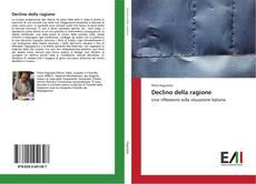 Capa do livro de Declino della ragione