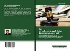 Bookcover of Das versicherungsrechtliche Bereicherungsverbot