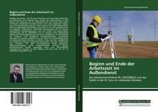 Bookcover of Beginn und Ende der Arbeitszeit im Außendienst