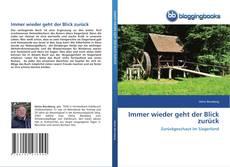 Bookcover of Immer wieder geht der Blick zurück