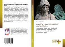 Capa do livro de Psalms to Pursue Good Health and Well-being