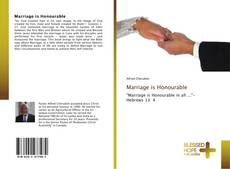 Bookcover of Marriage is Honourable