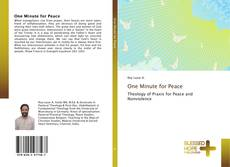 Bookcover of One Minute for Peace