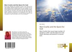 Couverture de Man Cruelty and the Quest for God