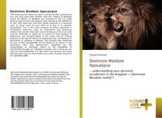 Buchcover von Dominion Mandate Apocalypse
