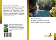Portada del libro de Esteban Gumucio Vives SSCC