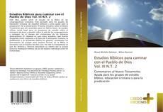 Estudios Bíblicos para caminar con el Pueblo de Dios Vol. III N.T. 2 kitap kapağı