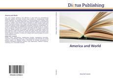 Couverture de America and World