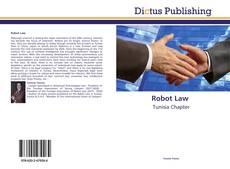 Copertina di Robot Law