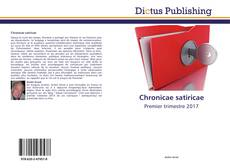 Bookcover of Chronicae satiricae