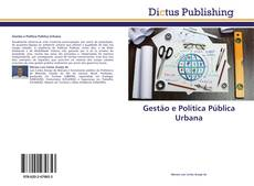 Обложка Gestão e Política Pública Urbana