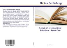 Focus on International Relations - Book One kitap kapağı