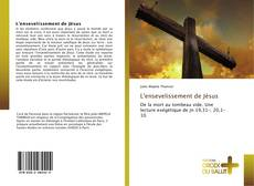 Bookcover of L'ensevelissement de Jésus