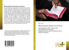 Buchcover von Missionnaire africain en France