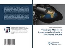 Fracking en México: su impacto en el ambiente y violaciones a DDHH kitap kapağı