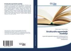 Portada del libro de Strukturális egyenletek modellje