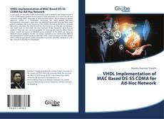 Capa do livro de VHDL Implementation of MAC Based DS-SS CDMA for Ad-Hoc Network