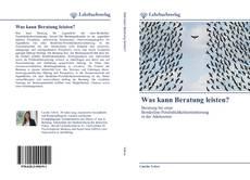Capa do livro de Was kann Beratung leisten?
