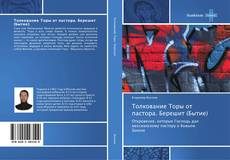 Bookcover of Толкование Торы от пастора. Берешит (Бытие)