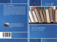 Portada del libro de How to read books