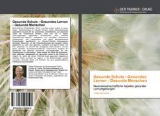 Обложка Gesunde Schule - Gesundes Lernen - Gesunde Menschen