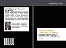 """Buchcover von """"Publik Speaking"""" – Präsentieren mit Wirkung!"""