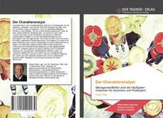 Der Charakteranalyst kitap kapağı