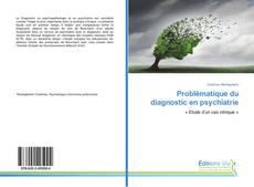 Problématique du diagnostic en psychiatrie kitap kapağı