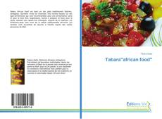 "Bookcover of Tabara""african food"""