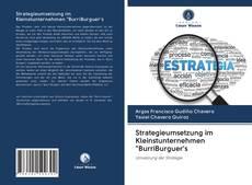 """Bookcover of Strategieumsetzung im Kleinstunternehmen """"BurriBurguer's"""
