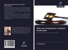 Bookcover of Gids voor Academisch Juridisch Onderzoek