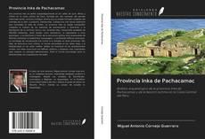 Portada del libro de Provincia Inka de Pachacamac