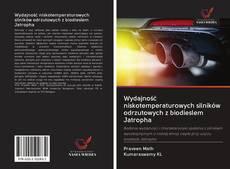 Bookcover of Wydajność niskotemperaturowych silników odrzutowych z biodieslem Jatropha