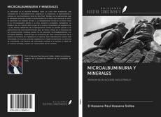 Buchcover von MICROALBUMINURIA Y MINERALES