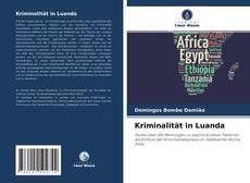 Bookcover of Kriminalität in Luanda