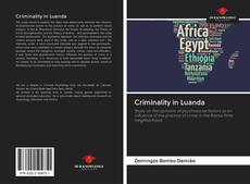 Bookcover of Criminality in Luanda